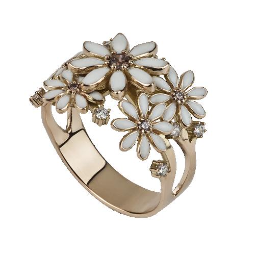 prsten BURGE růžové zlato